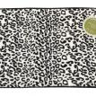 """Snow Leopard"" Faux Fur Bath Rug"