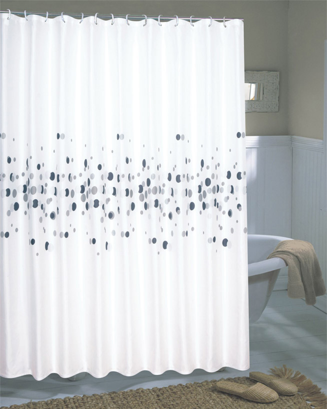 Carnation Home Fashions, Inc - Extra Wide Fabric Shower Curtains ...