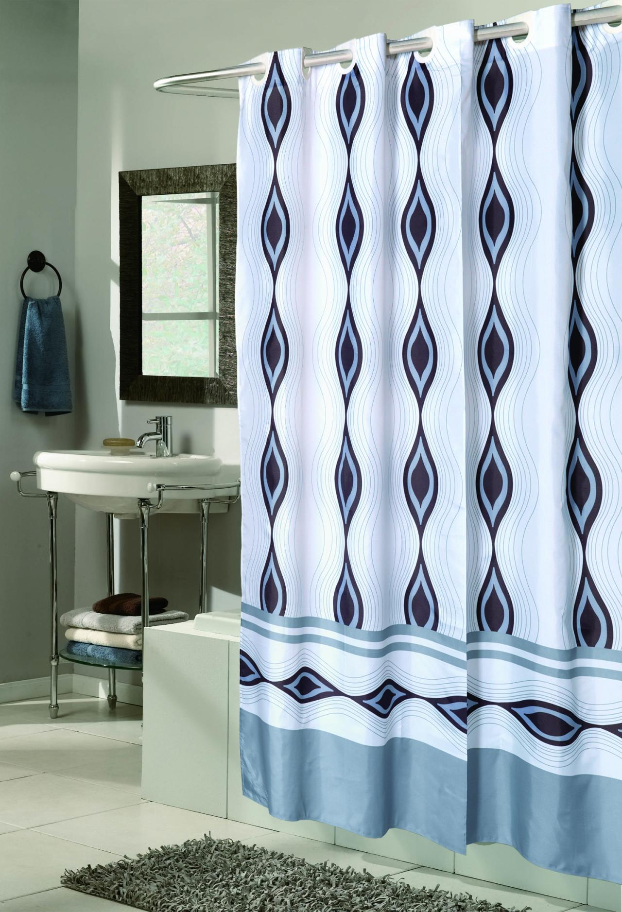 Make Cheap Curtain Rods Clear Peva Shower Curtains