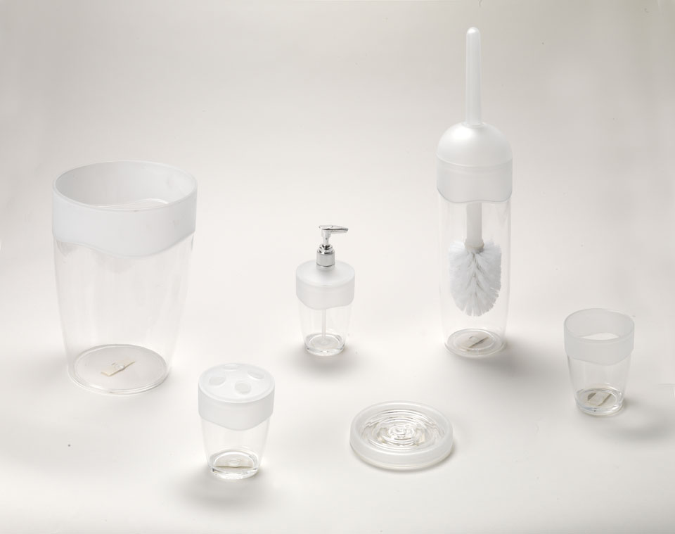 carnation home fashions inc acrylic bath accessories