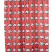 """Sanata Claus"" Fabric Shower Curtain"