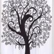 """Tree of Life"" Fabric Shower Curtains"