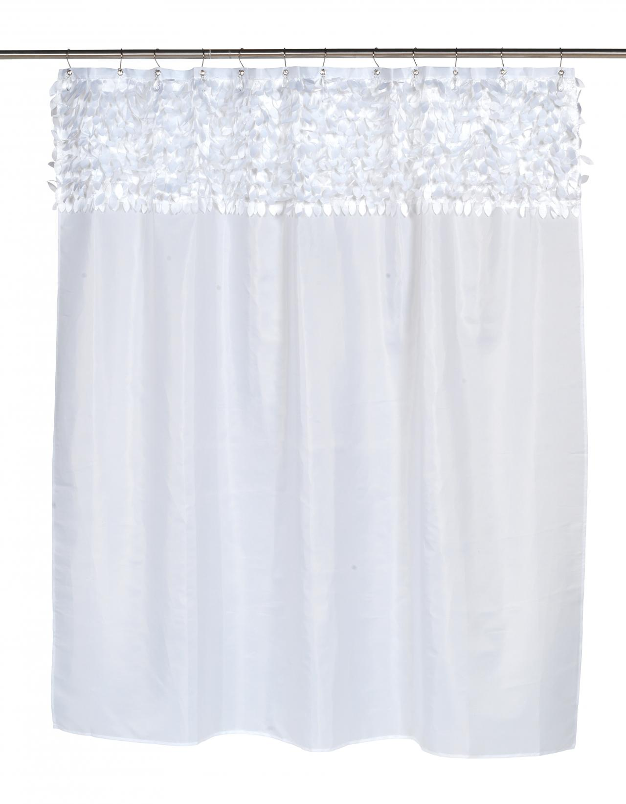 Carnation Home Fashions Inc Jasmine Fabric Shower Curtains
