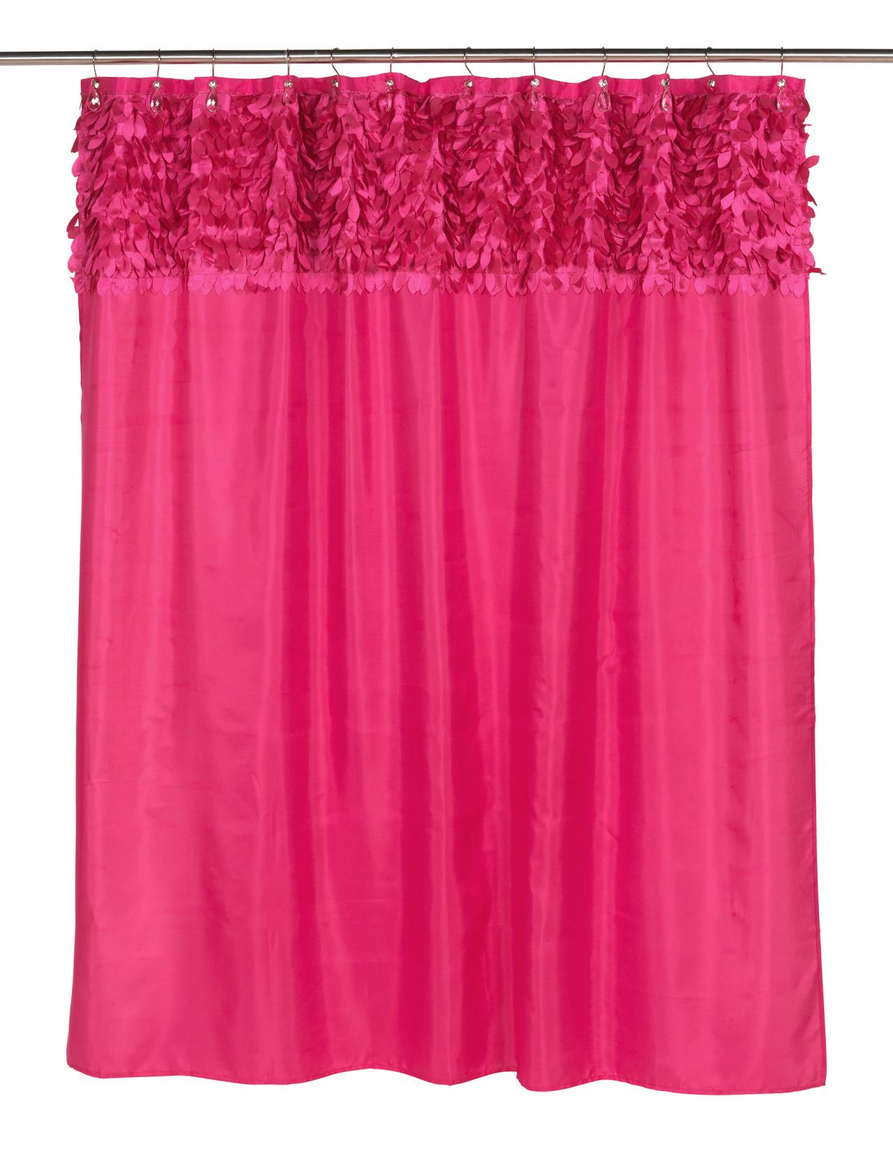 Carnation Home Fashions Inc Jasmine Fabric Shower Curtains