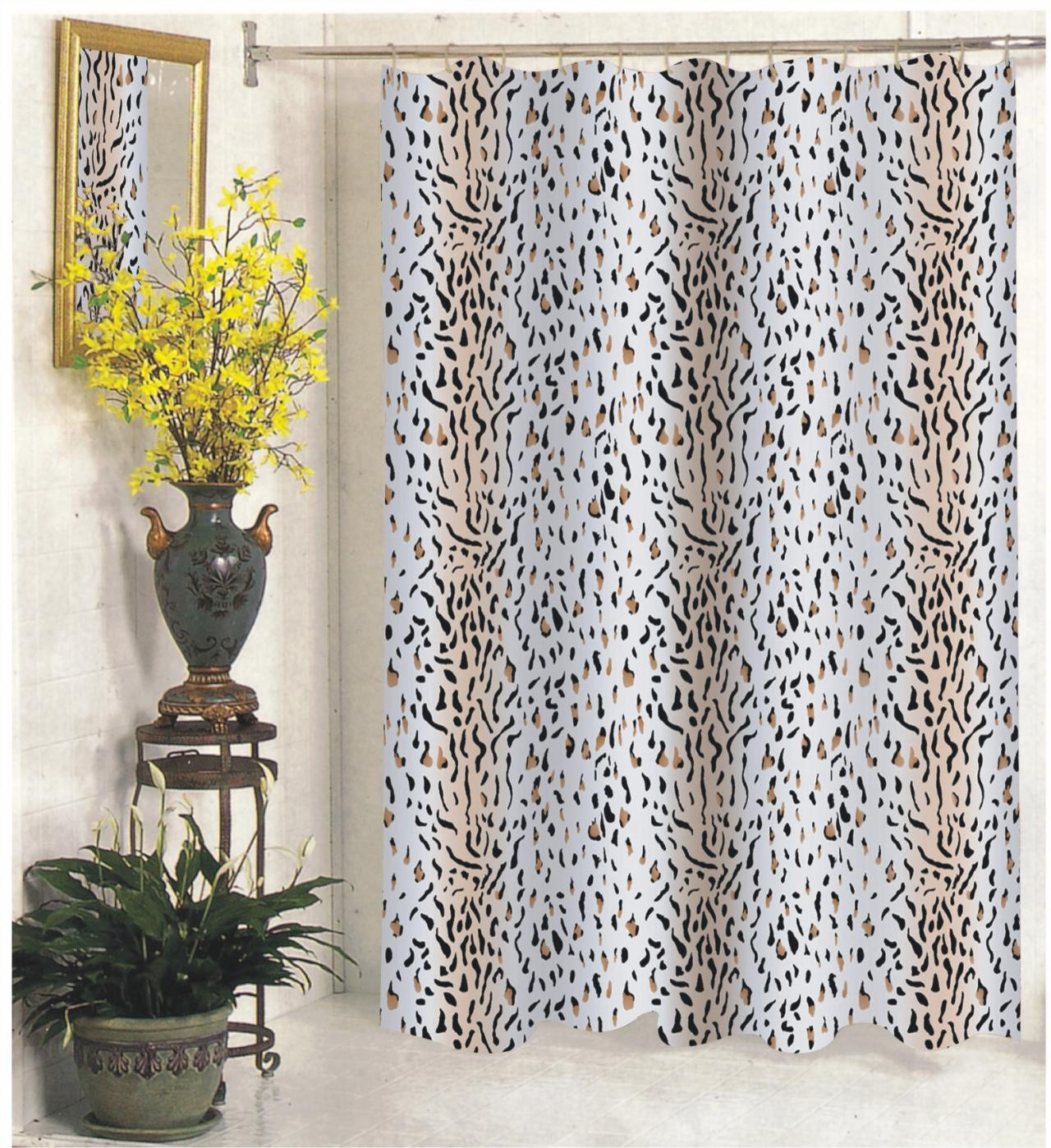 Fashions inc extra wide fabric shower curtains 108 quot wide x 72 quot long