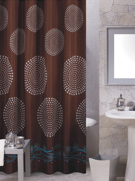 Shower Curtains Brown Interior Design Ideas Small Space Gray