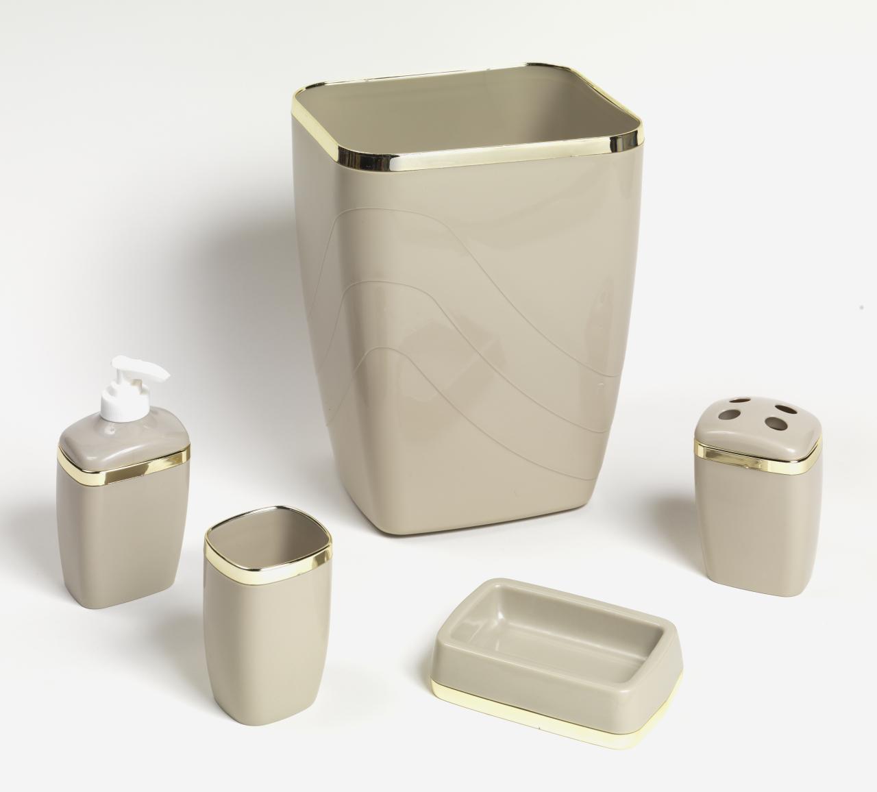 Beige bathroom accessories medium size of bathroom grey for Beige bathroom accessories set
