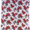 """Poinsettia"" Vinyl Shower Curtain"