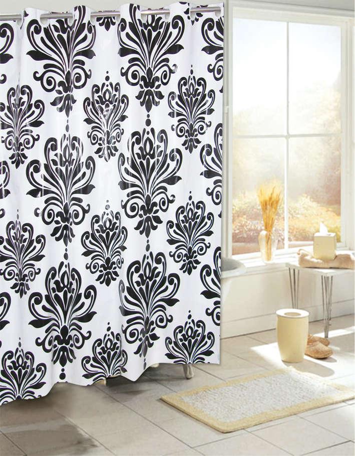 Make Cheap Curtain Rods Hotel Hookless Shower Curtains