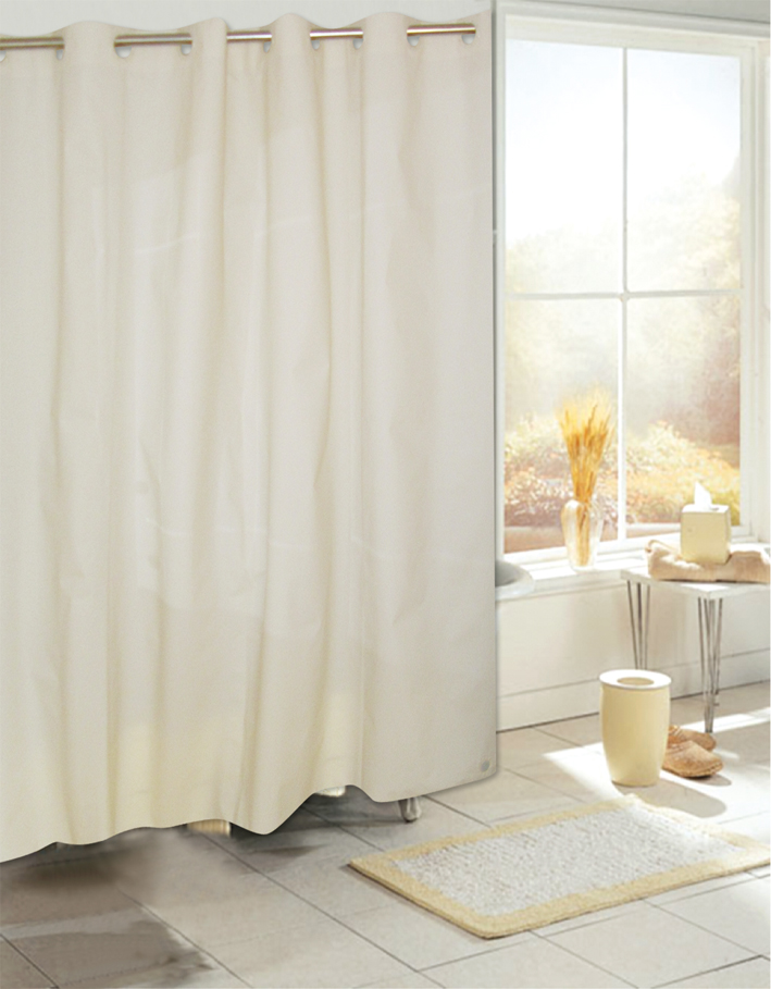 Make Cheap Curtain Rods Fabric Shower Curtains