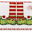 """Elf Shoes"" Expanded Vinyl Placemats"